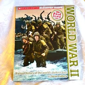 World War II WWII Visual Picture History Book
